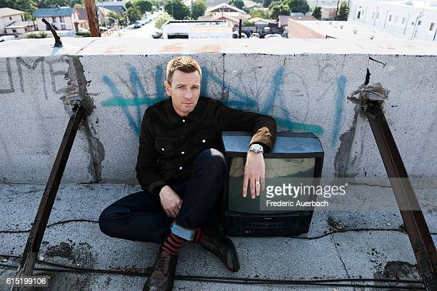 Actor Ewan McGregor is photographed for Malibu Magazine on August 24 2016 in Los Angeles California