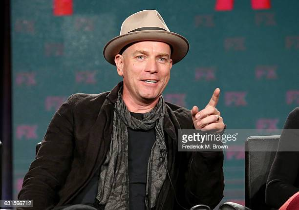 Actor Ewan McGregor of the television show 'Fargo' speaks onstage during the FX portion of the 2017 Winter Television Critics Association Press Tour...
