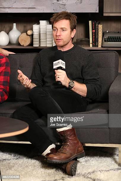 Actor Ewan McGregor speaks at The Variety Studio At Sundance Presented By Dockers on January 25 2015 in Park City Utah