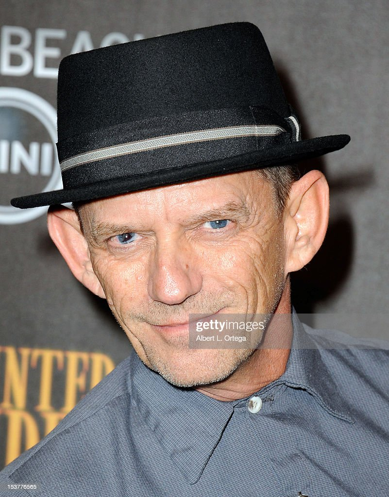 Actor Ezra Buzzington arrives for the 4th Annual Los Angeles Haunted Hayride - 'The Congregation' - Arrivals held at Griffith Park on October 7, 2012 in Los Angeles, California.