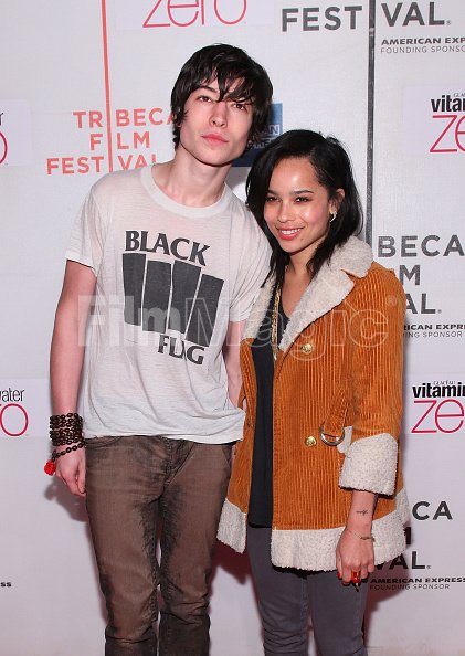 Actor Ezra Miller And Zoe Kravitz Attend The Every Day Premiere