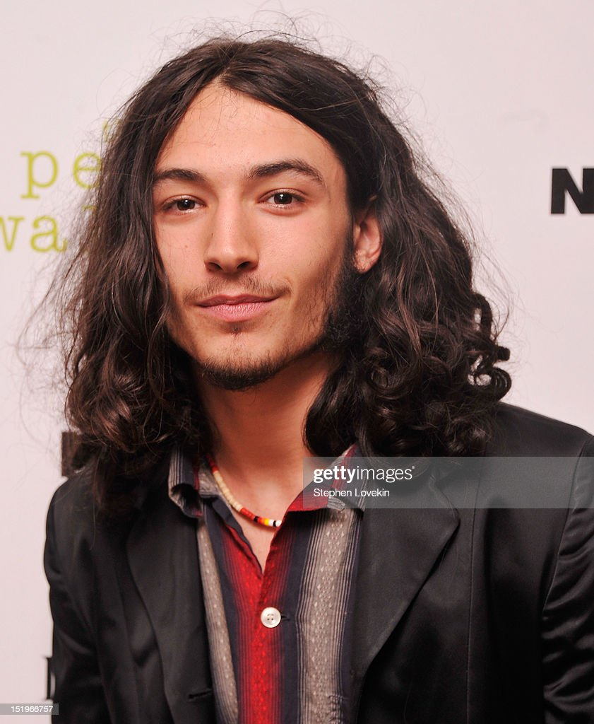 Actor <a gi-track='captionPersonalityLinkClicked' href=/galleries/search?phrase=Ezra+Miller&family=editorial&specificpeople=5348897 ng-click='$event.stopPropagation()'>Ezra Miller</a> attends The Cinema Society special screening of 'The Perks Of Being A Wall Flower' on September 13, 2012 in New York City.