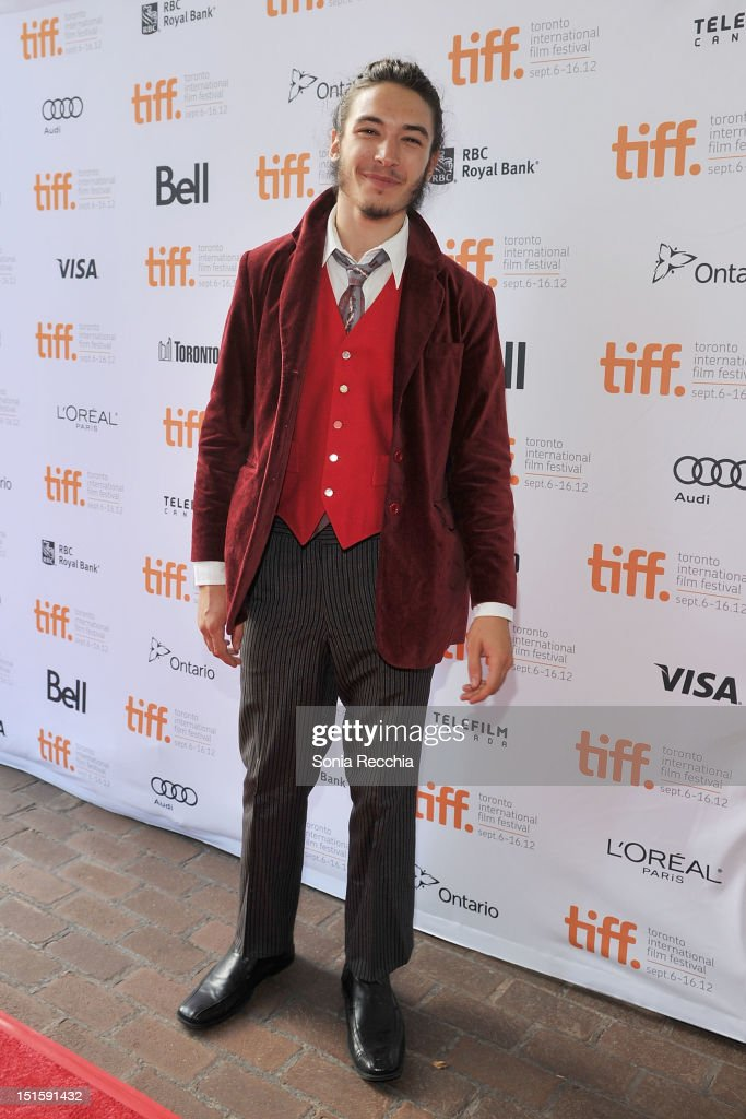Actor Ezra Miller attends 'The Perks Of Being A Wallflower' premiere during the 2012 Toronto International Film Festival at Ryerson Theatre on September 8, 2012 in Toronto, Canada.