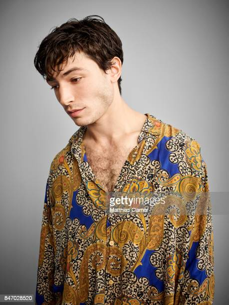 Actor Ezra Miller from 'Fantastic Beasts and Where To Find Them' is photographed for Entertainment Weekly Magazine on July 23 2016 at Comic Con in...