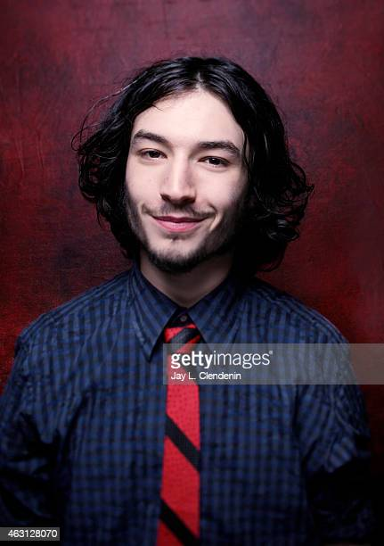 Actor Ezra Miller is photographed for Los Angeles Times on January 24 2015 in Park City Utah PUBLISHED IMAGE CREDIT MUST READ Jay L Clendenin/Los...