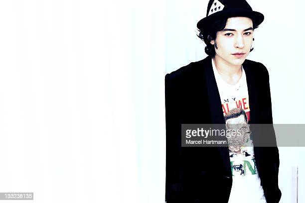 Actor Ezra Miller is photographed for Studio Cine Live on May 20 2011 in Cannes France