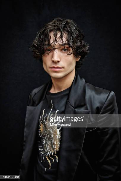Actor Ezra Miller is photographed on June 12 2017 in London England