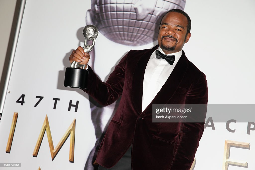 Actor F. Gary Gray poses with the Outstanding Motion Picture award in the press room during the 47th NAACP Image Awards presented by TV One at Pasadena Civic Auditorium on February 5, 2016 in Pasadena, California.