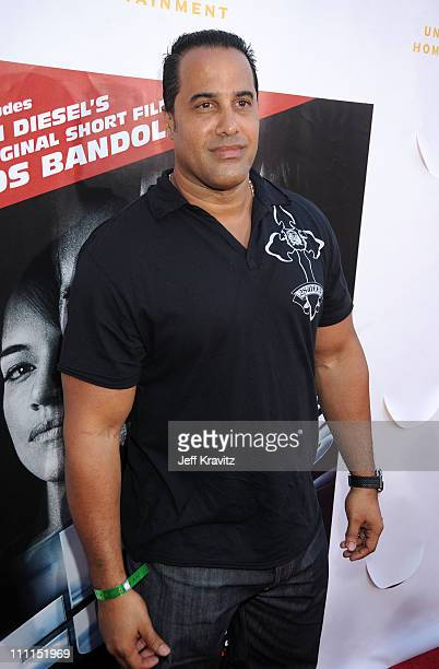 Actor F Valentino Morales attends Universal Studios Home Entertainment's DVD release of Fast Furious kick off with the US Premiere of Vin Diesel's...