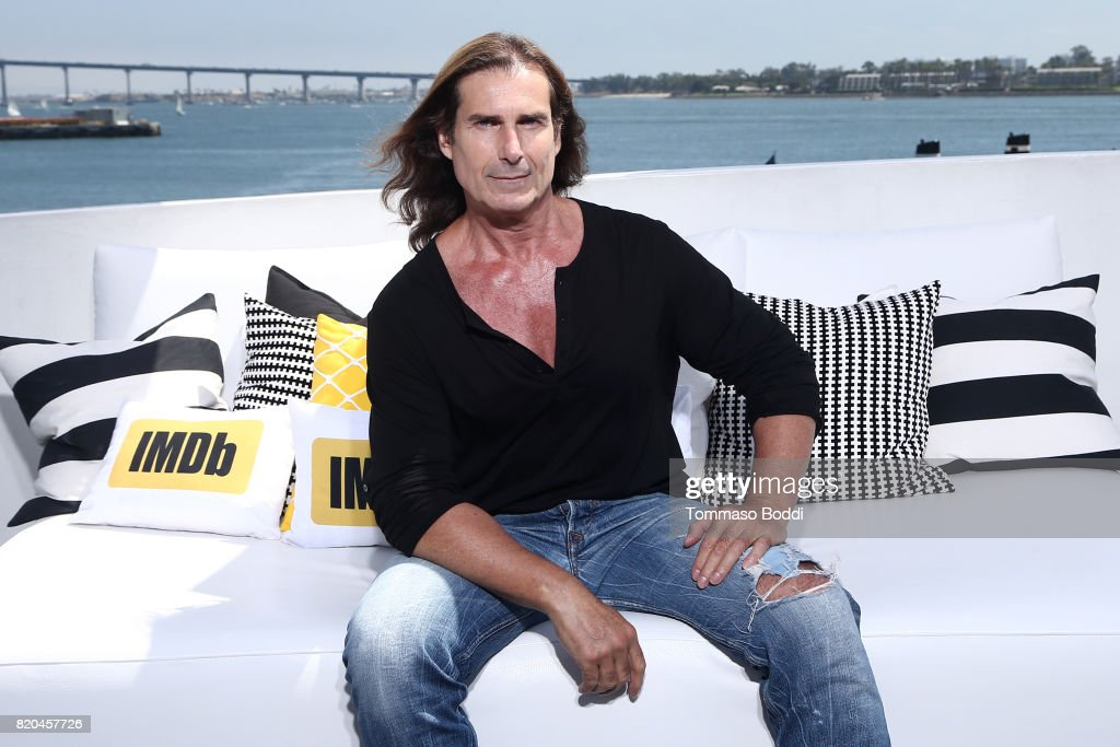 Actor Fabio Lanzoni on the #IMDboat at San Diego Comic-Con 2017 at The IMDb Yacht on July 21, 2017 in San Diego, California.