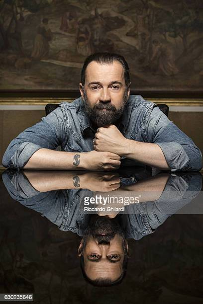 Actor Fabio Volo is photographed for Self Assignment on December 8 2016 in Rome Italy