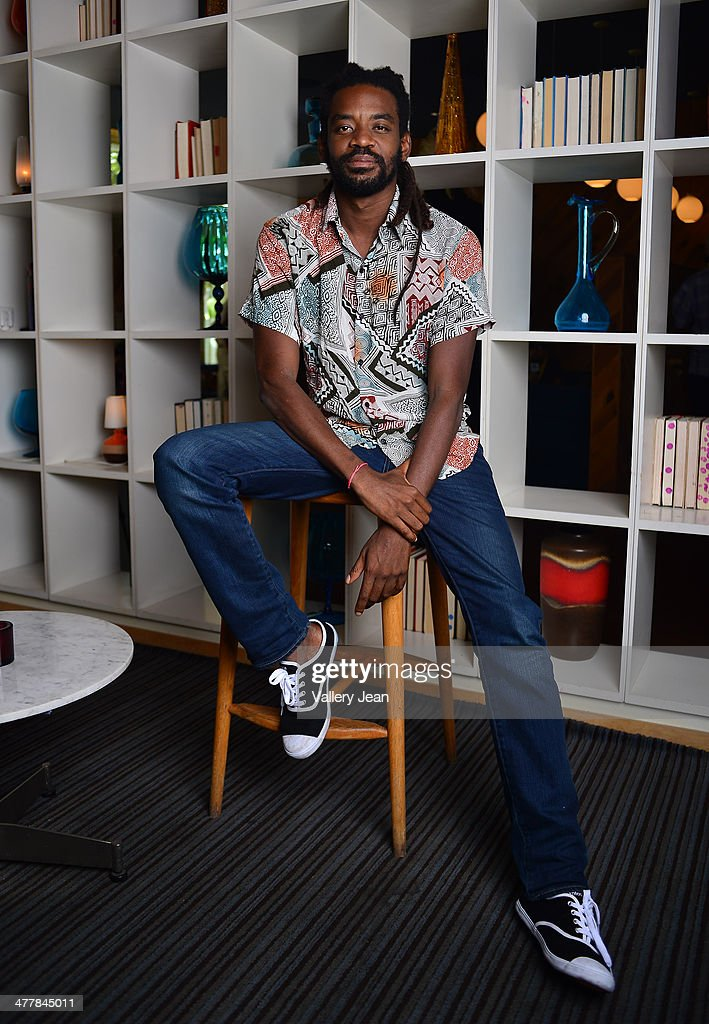 Actor Fabricio Boliveira poses for a portrait session promoting his new film 'Brazilian Western' during the Miami International Film Festival 2014 at The Standard on March 10, 2014 in Miami Beach, Florida.