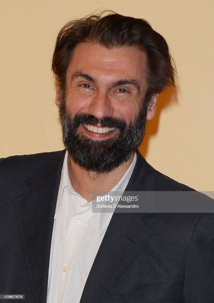 Actor Fabrizio Gifuni attends 'Noi 4' Photocall on March 14, 2014 in Milan, Italy.