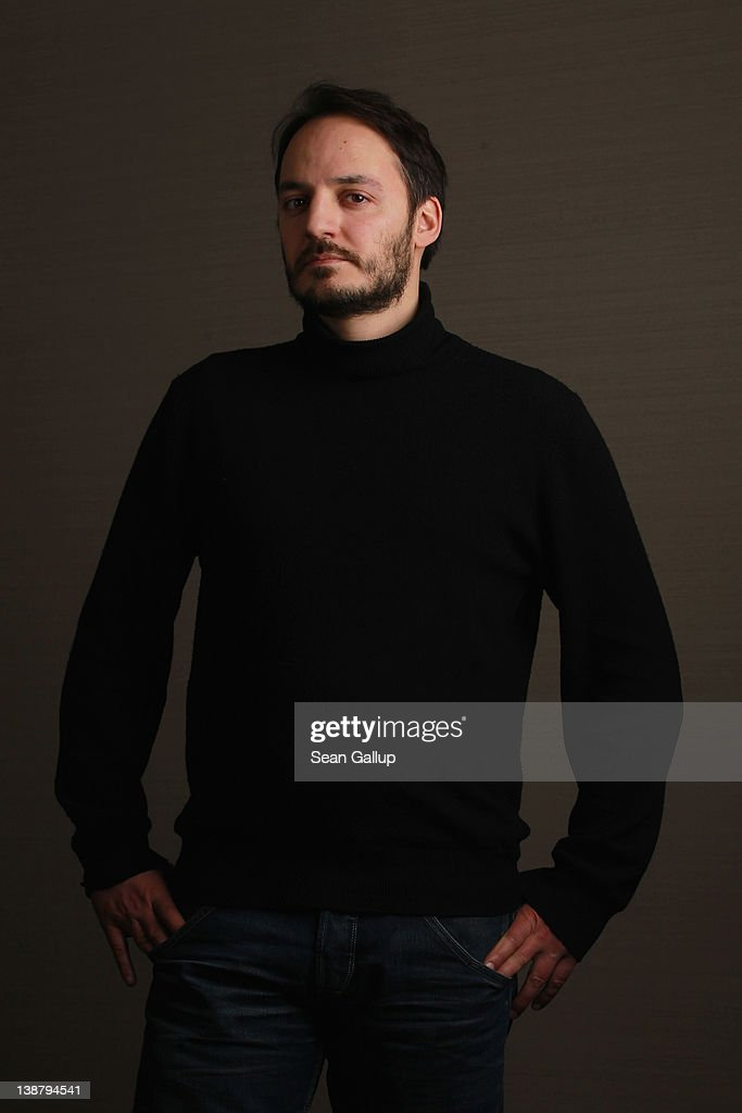 Actor <a gi-track='captionPersonalityLinkClicked' href=/galleries/search?phrase=Fabrizio+Rongione&family=editorial&specificpeople=5349599 ng-click='$event.stopPropagation()'>Fabrizio Rongione</a> poses during a portrait session for the film 'Diaz - Don't Clean Up The Blood' during the 62nd Berlinale International Film Festival on February 12, 2012 in Berlin, Germany.