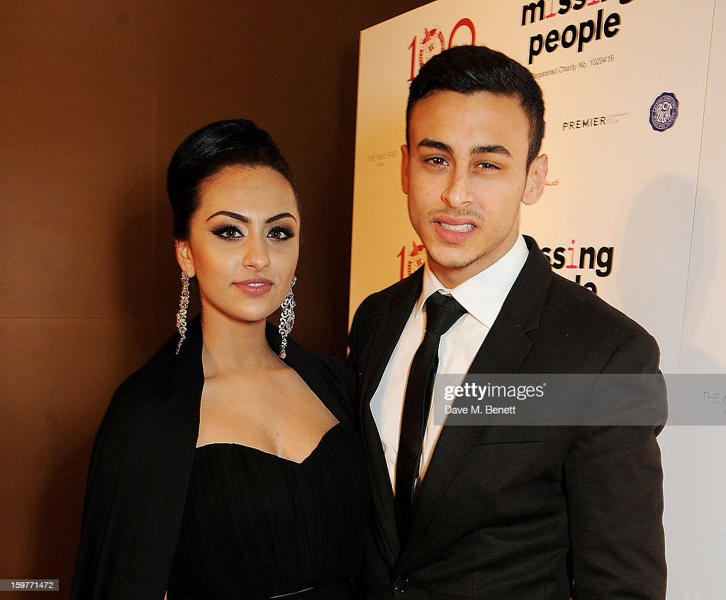 Actor Fady Elsayed (R) arrives at the London Critics Circle Film Awards at the May Fair Hotel on January 20, 2013 in London, England.