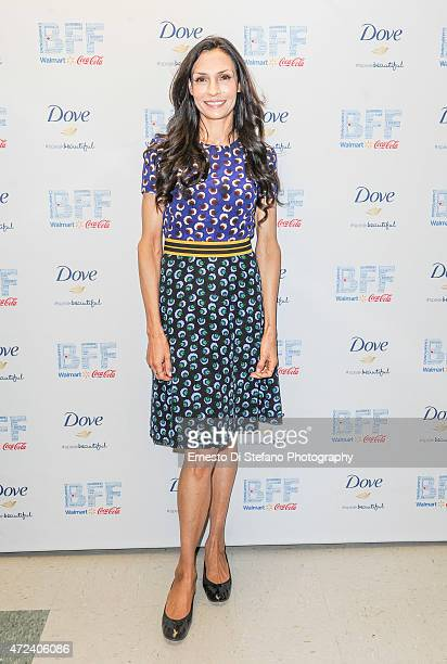 Actor Famke Janssen attends the screening of 'Jack of the Red Hearts' on day 2 of the Bentonville Film Festival on May 5 2015 in Bentonville Arkansas
