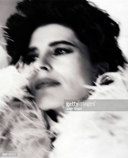 Actor Fanny Ardent is photographed in London England