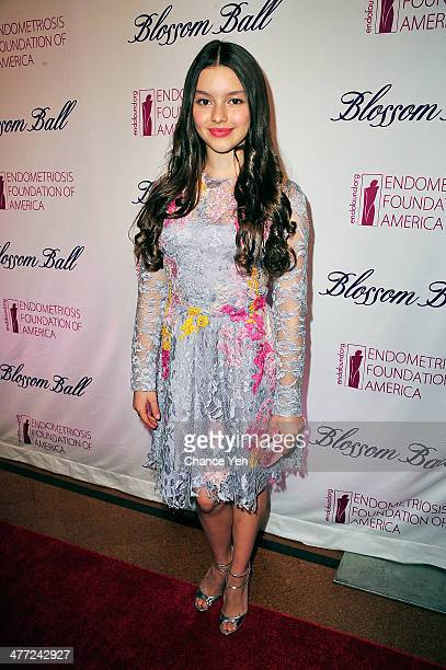 Actor Fatima Ptacek attends 6th Annual Blossom Ball Benefiting Endometriosis Foundation Of America at 583 Park Avenue on March 7 2014 in New York City
