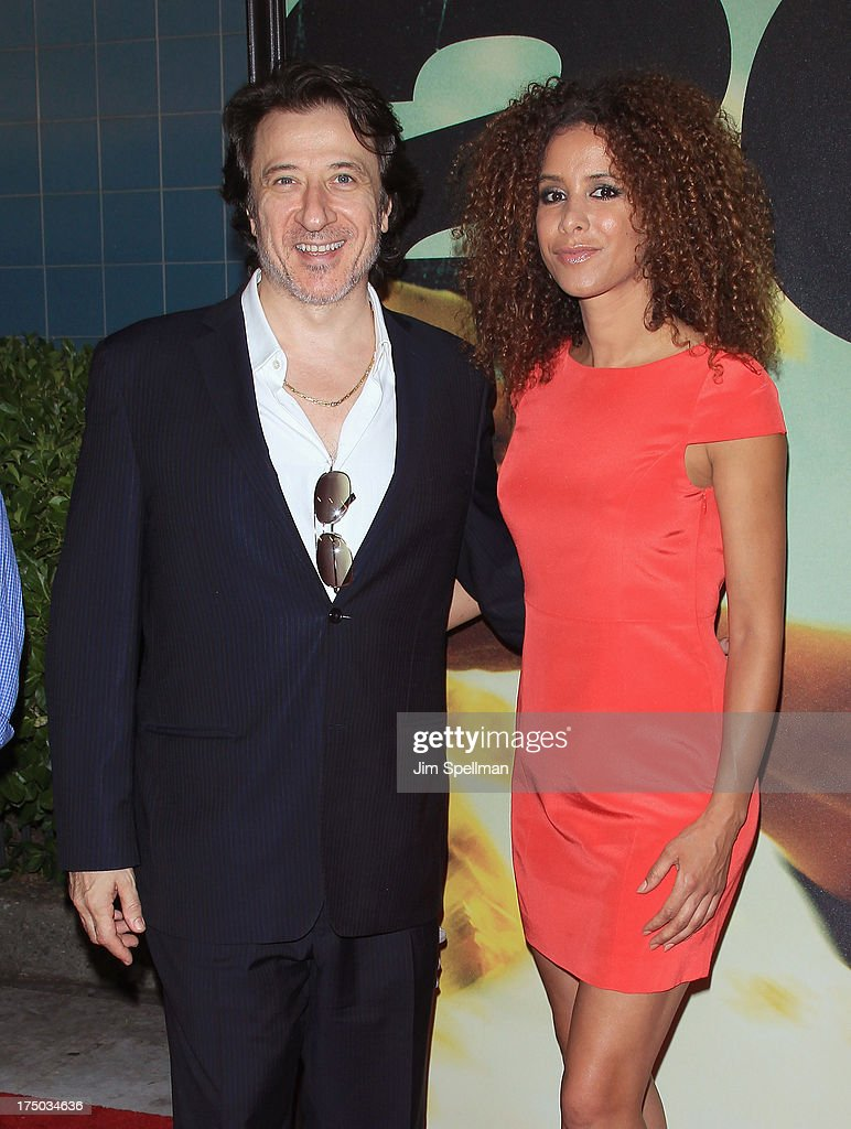 Actor Federico Castelluccio and Yvonne Maria Schaefer attend the '2 Guns' New York Premiere at SVA Theater on July 29, 2013 in New York City.