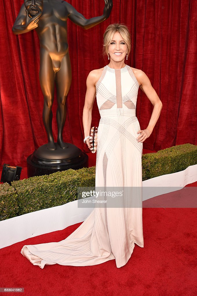 Actor Felicity Huffman attends The 23rd Annual Screen Actors Guild Awards at The Shrine Auditorium on January 29, 2017 in Los Angeles, California.