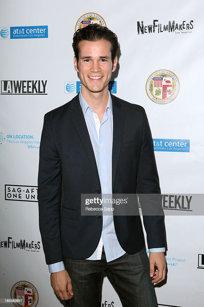 Actor Fernando Duran arrives at the 3rd Annual On Location: The Los Angeles Video Project 2013 at the AT&T Center on October 19, 2013 in Los Angeles, California.