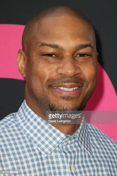 Actor Finesse Mitchell attends the premiere of Universal Pictures' 'Girls Trip' at Regal LA Live Stadium 14 on July 13 2017 in Los Angeles California