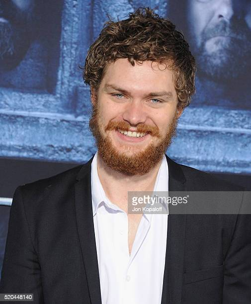 Actor Finn Jones arrives at the Premiere Of HBO's 'Game Of Thrones' Season 6 at TCL Chinese Theatre on April 10 2016 in Hollywood California