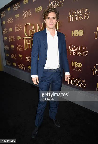 Actor Finn Jones attends HBO's 'Game of Thrones' Season 5 Premiere and After Party at the San Francisco Opera House on March 23 2015 in San Francisco...