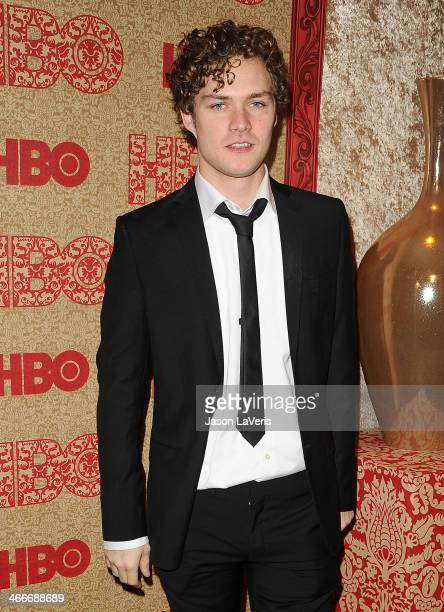 Actor Finn Jones attends HBO's Golden Globe Awards after party at Circa 55 Restaurant on January 12 2014 in Los Angeles California