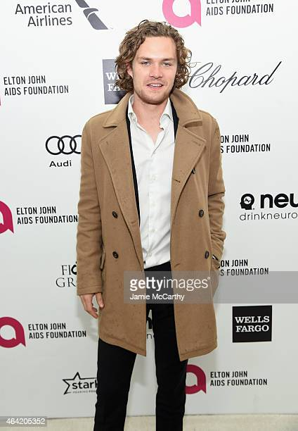 Actor Finn Jones attends the 23rd Annual Elton John AIDS Foundation Academy Awards Viewing Party on February 22 2015 in Los Angeles California