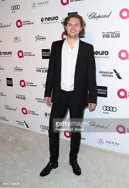 Actor Finn Jones attends the 23rd Annual Elton John AIDS Foundation's Oscar Viewing Party on February 22 2015 in West Hollywood California