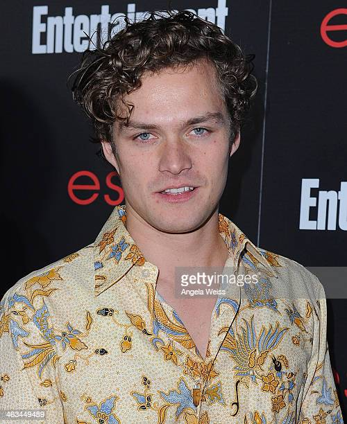 Actor Finn Jones attends the Entertainment Weekly celebration honoring this year's SAG Awards nominees sponsored by TNT TBS and essie at Chateau...