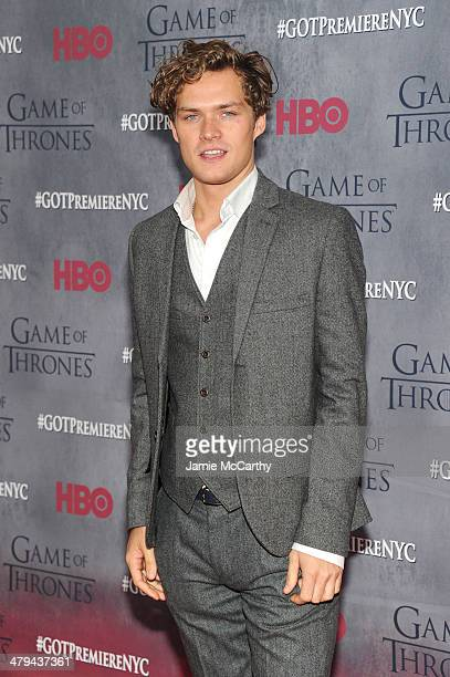 Actor Finn Jones attends the 'Game Of Thrones' Season 4 New York premiere at Avery Fisher Hall Lincoln Center on March 18 2014 in New York City