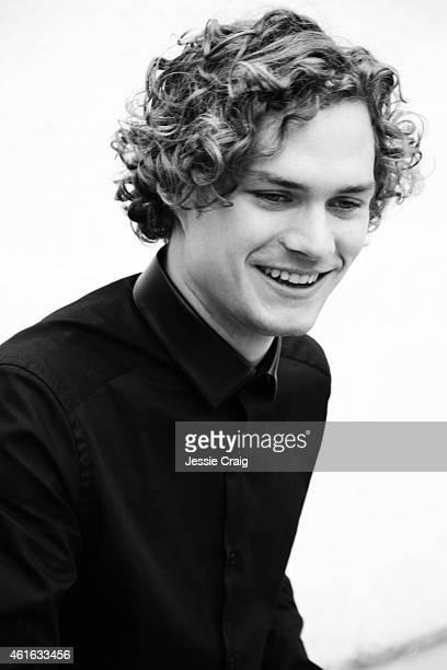 Actor Finn Jones is photographed for SID magazine on September 11 2014 in London England