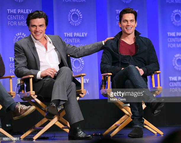 Actor Finn Wittrock and actor Matt Bomer attend The Paley Center for Media's 32nd annual PALEYFEST LA 'American Horror Story Freak Show' at Dolby...