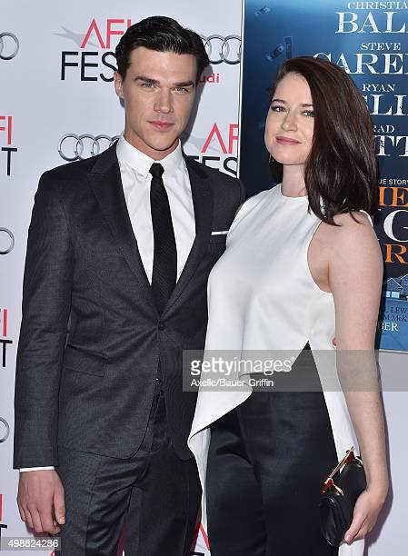 Actor Finn Wittrock and Sarah Roberts arrive at the AFI FEST 2015 Presented By Audi Closing Night Gala Premiere of Paramount Pictures' 'The Big...