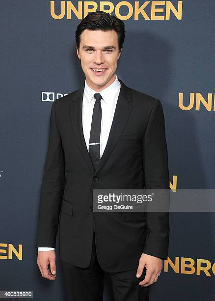 Actor Finn Wittrock arrives at the Los Angeles premiere of 'Unbroken' at The Dolby Theatre on December 15 2014 in Hollywood California