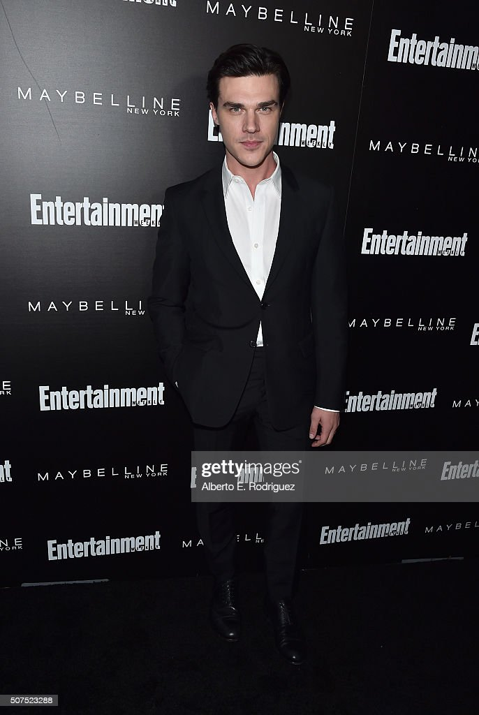 Actor Finn Wittrock attends Entertainment Weekly's celebration honoring THe Screen Actors Guild presented by Maybeline at Chateau Marmont on January 29, 2016 in Los Angeles, California.