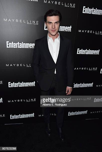 Actor Finn Wittrock attends Entertainment Weekly's celebration honoring THe Screen Actors Guild presented by Maybeline at Chateau Marmont on January...