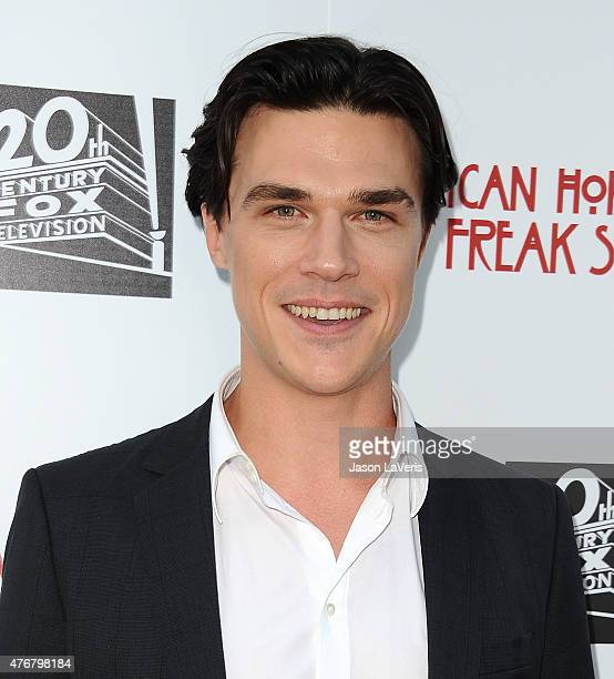 Actor Finn Wittrock attends FX's 'American Horror Story Freakshow' FYC special screening and QA at Paramount Studios on June 11 2015 in Los Angeles...