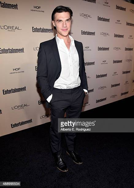 Actor Finn Wittrock attends the 2015 Entertainment Weekly PreEmmy Party at Fig Olive Melrose Place on September 18 2015 in West Hollywood California
