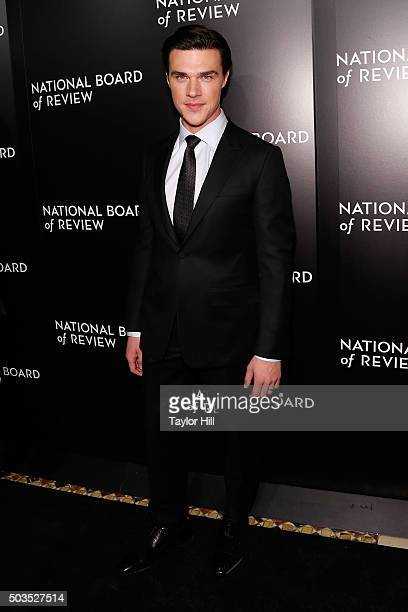 Actor Finn Wittrock attends the 2015 National Board of Review Gala at Cipriani 42nd Street on January 5 2016 in New York City