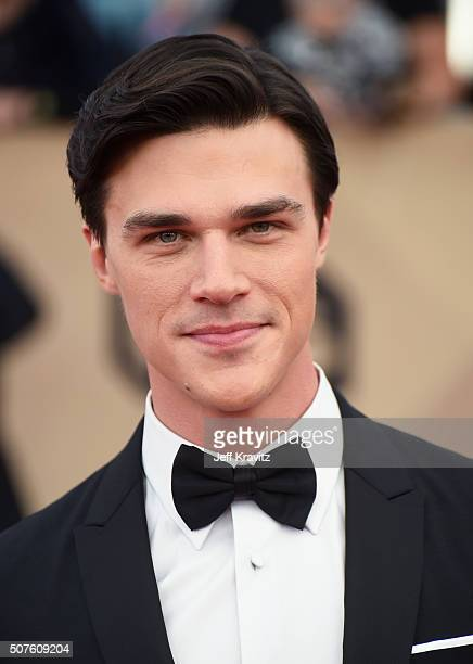 Actor Finn Wittrock attends the 22nd Annual Screen Actors Guild Awards at The Shrine Auditorium on January 30 2016 in Los Angeles California