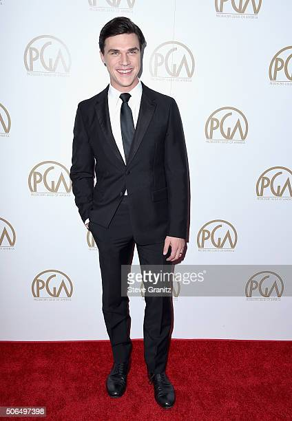 Actor Finn Wittrock attends the 27th Annual Producers Guild Awards at the Hyatt Regency Century Plaza on January 23 2016 in Century City California