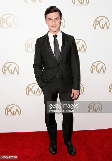 Actor Finn Wittrock attends the 27th Annual Producers Guild Of America Awards at the Hyatt Regency Century Plaza on January 23 2016 in Century City...