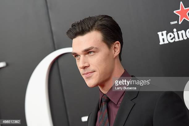 Actor Finn Wittrock attends 'The Big Short' Premiere at Ziegfeld Theatre on November 23 2015 in New York City