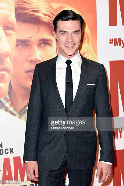 Actor Finn Wittrock attends the premiere of Clarius Entertainment's 'My All American' at The Grove on November 9 2015 in Los Angeles California