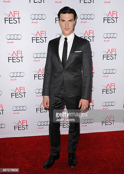 Actor Finn Wittrock attends the premire of 'The Big Short' at the 2015 AFI Fest at TCL Chinese 6 Theatres on November 12 2015 in Hollywood California