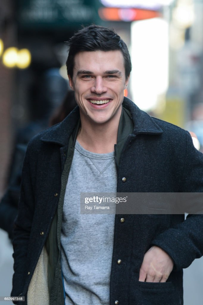Actor Finn Wittrock enters the 'The Late Show With Stephen Colbert' taping at the Ed Sullivan Theater on March 13, 2017 in New York City.