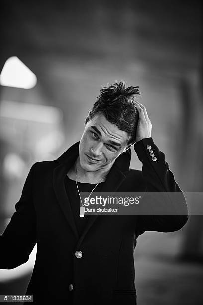 Actor Finn Wittrock is photographed for Flaunt Magazine on October 7 2015 in El Segundo California